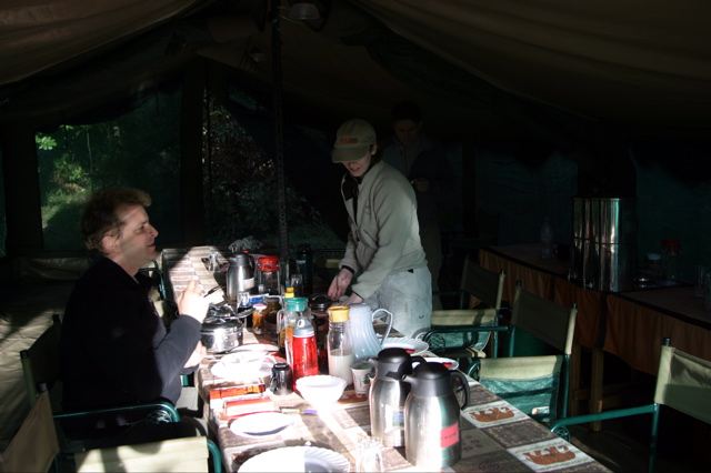 Day 6 - Mt Meru Hike:Camp - 14