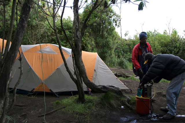 Day 7 - Kili - To Machame - 9