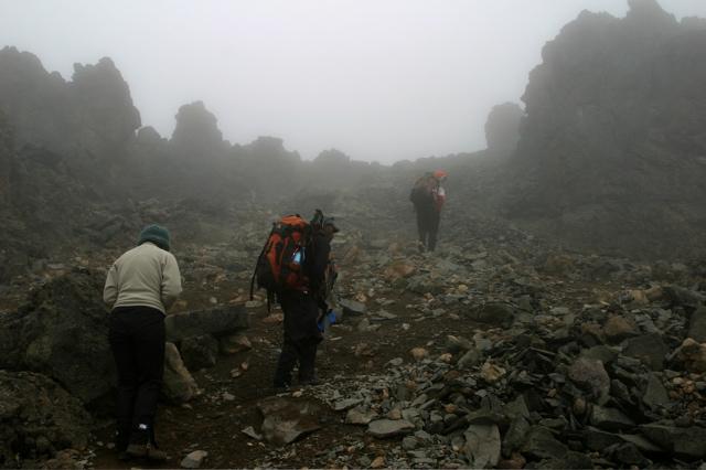 Day 10 - Kili - To Arrow Glacier - 10