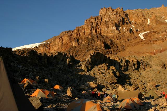 Day 10 - Kili - To Arrow Glacier - 12