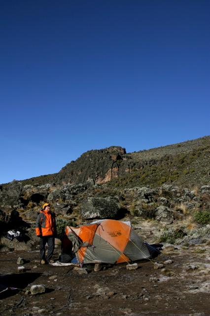 Day 10 - Kili - To Arrow Glacier - 2