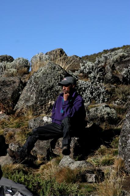Day 10 - Kili - To Arrow Glacier - 3